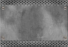 Marco del metal imagenes de archivo