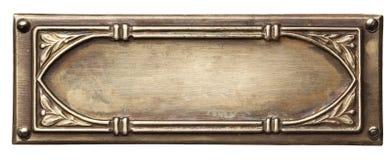 Marco del metal imágenes de archivo libres de regalías