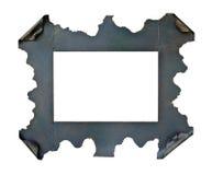 Marco del metal fotografía de archivo