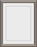 Marco del metal Imagen de archivo libre de regalías