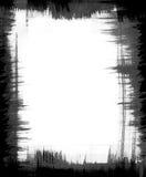 Marco del modelo del cepillo stock de ilustración