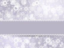 Marco del modelo para la tarjeta de Navidad ilustración del vector