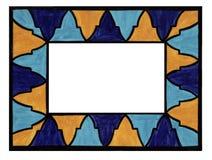Marco del mosaico Foto de archivo