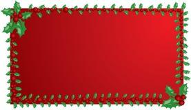 Marco del muérdago de la Navidad, elementos para el diseño, vector Fotos de archivo libres de regalías