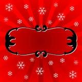 Marco del ornamental de la Navidad libre illustration