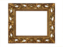 Marco del oro Imagenes de archivo