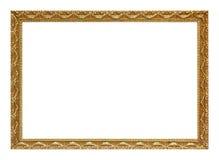 Marco del oro Imágenes de archivo libres de regalías