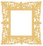 Marco del oro ilustración del vector