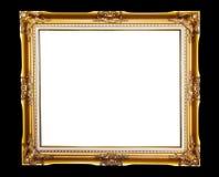Marco del oro Fotos de archivo libres de regalías