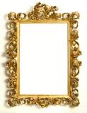 Marco del oro Fotografía de archivo libre de regalías