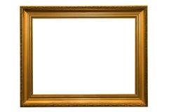 Marco del oro fotos de archivo