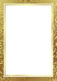 Marco del oro stock de ilustración