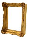 Marco del oro de la perspectiva imágenes de archivo libres de regalías
