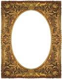 Marco del oro de la vendimia Imagenes de archivo