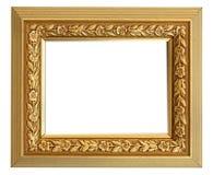 Marco del oro de la vendimia Fotos de archivo libres de regalías