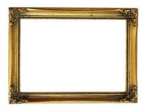 Marco del oro de la vendimia foto de archivo libre de regalías