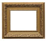 Marco del oro del cuadro imágenes de archivo libres de regalías