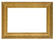 Marco del oro del cuadro Fotografía de archivo libre de regalías