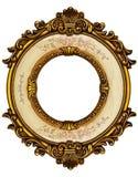Marco del oro viejo Fotografía de archivo libre de regalías