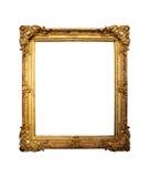 Marco del oro viejo Fotos de archivo