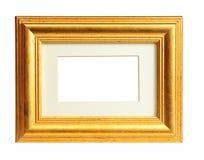 Marco del oro viejo Imagenes de archivo