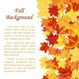 Marco del otoño Fotos de archivo libres de regalías