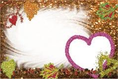 Marco del otoño para el suyo foto. Imágenes de archivo libres de regalías