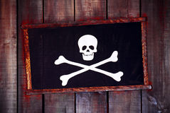Marco del pirata Foto de archivo libre de regalías