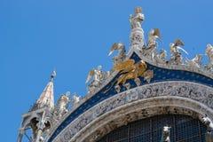 Marco del San a Venezia Fotografia Stock