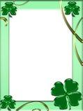 Marco del ST. Patrick Fotografía de archivo libre de regalías