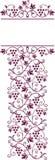 Marco del tema del vino Imagen de archivo libre de regalías