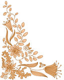 Marco del vector del Doodle Fotografía de archivo libre de regalías