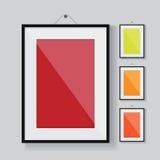 Marco del vector vacío Imagen de archivo libre de regalías