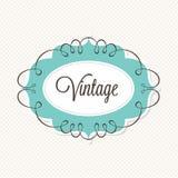 Marco del vintage Imagen de archivo libre de regalías