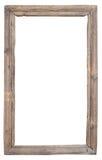 Marco del vintage de la madera vieja Imagenes de archivo