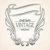 Marco del vintage del vector Imágenes de archivo libres de regalías
