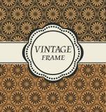 Marco del vintage del vector Imagenes de archivo
