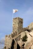 Marco do castelo do Moorish imagem de stock royalty free