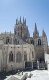 Marco do espanhol de Burgos Cathedral imagens de stock royalty free