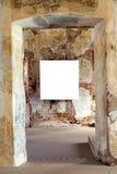 Marco en blanco de la pintura imagenes de archivo