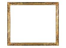 Marco en blanco de la vendimia Fotografía de archivo libre de regalías