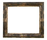 Marco en blanco de la vendimia desgastado y sucio fotografía de archivo