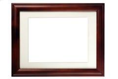 Marco en blanco de madera Fotografía de archivo libre de regalías
