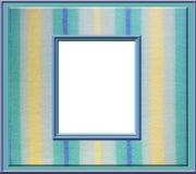 Marco en colores pastel de la raya Fotos de archivo libres de regalías