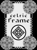Marco en de estilo celta Fotografía de archivo libre de regalías