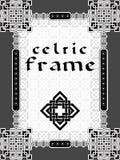 Marco en de estilo celta Fotos de archivo libres de regalías