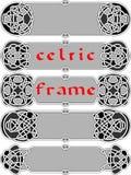 Marco en de estilo celta Imagen de archivo