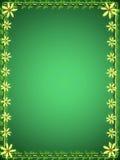 Marco esmeralda Imagen de archivo libre de regalías