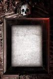 Marco espeluznante Fotografía de archivo