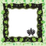 Marco floral Fotografía de archivo